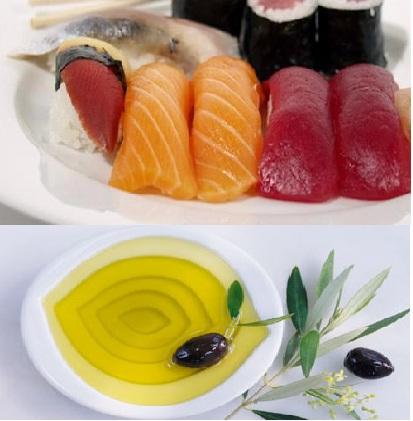 mỡ cá biển và dầu ol